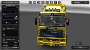 Scania 143m Michelin Skin