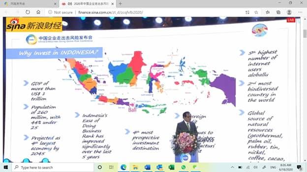 Djauhari Oratmangun Ungkap Investasi Asing Jadi Sumber Pertumbuhan di Era New Normal di Indonesia