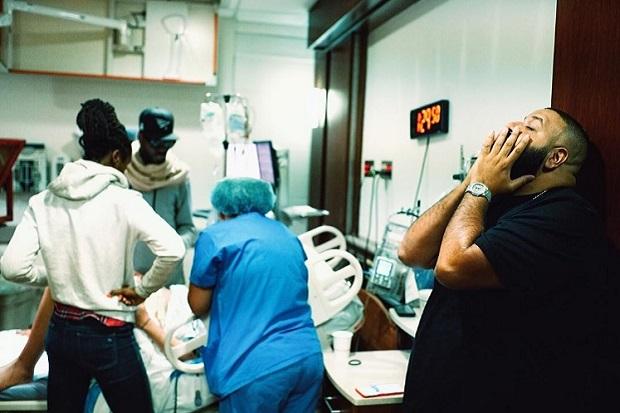DJ Khaled documenta el nacimiento de su primer hijo