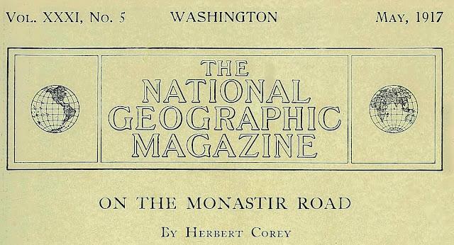 ON THE MONASTIR ROAD By Herbert Corey