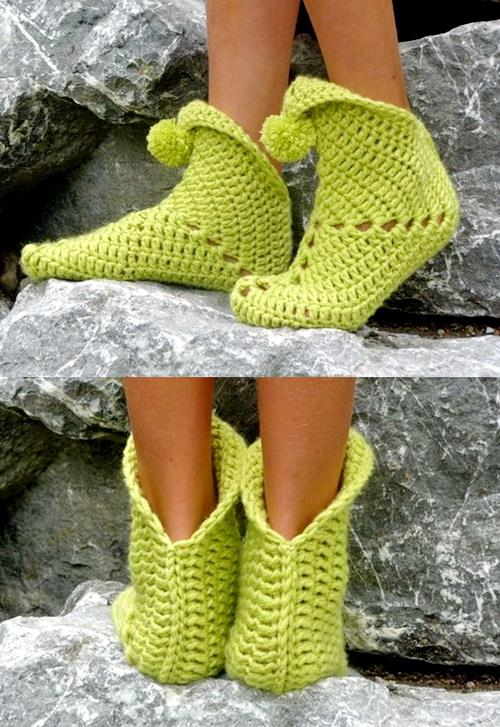 Crochet Slipper - Super Easy