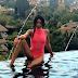 OMG! Nigerian International Model Ify Yolanda Jones shows her nipples in this swimwear...photos