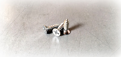 Tin Cobalt Chrome Plated Sheet Metal Screws - 6 X 3/8 Phillips Flat Type A In 316 Stainless Steel