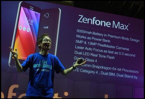 Asus Zenfone Max  HP Android Terbaru Dengan Baterai Besar Sangat Ideal