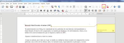 LibreOffice, escribir, aplicaciones