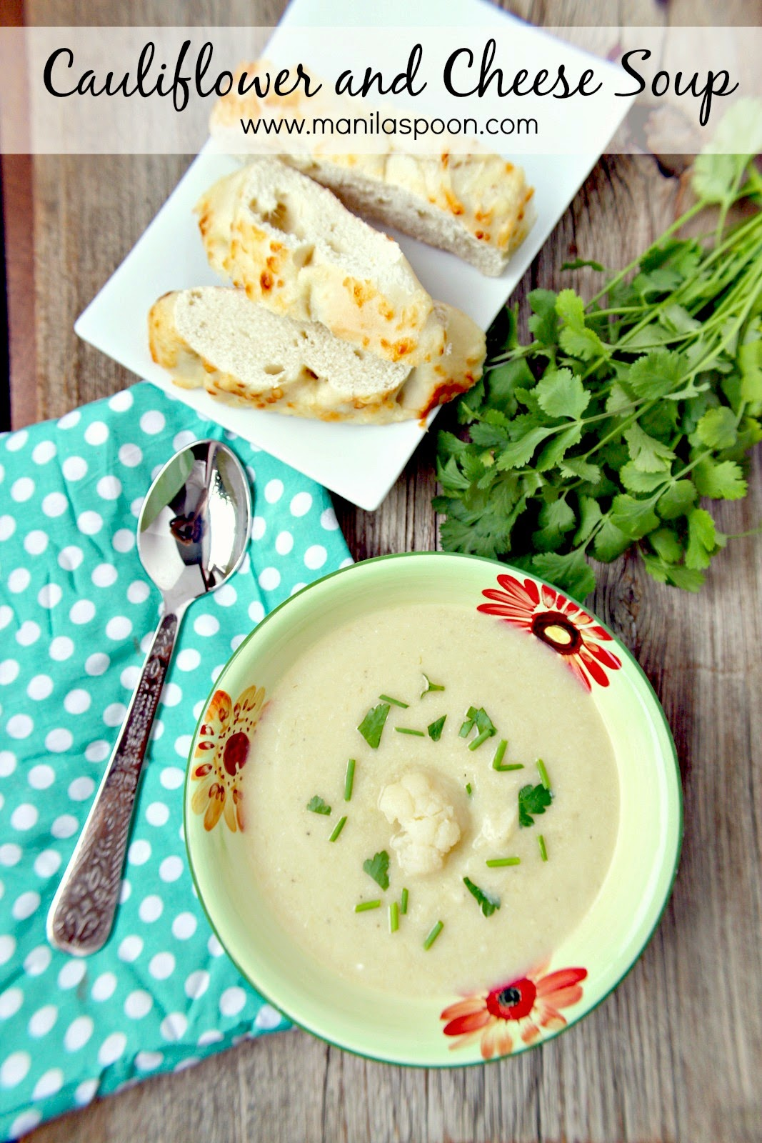 Cauliflower Cheese Soup