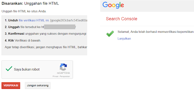 Cara Mendaftarkan blog di google