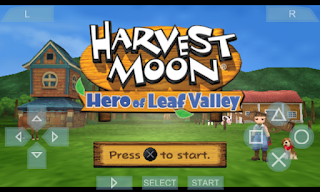 Download Harvest Moon Hero of Leaf Valley PPSSPP ISO Android Terbaru