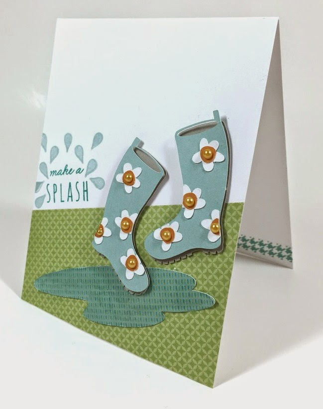 Cricut Make a Splash card