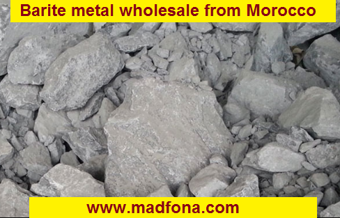 Barite metal wholesale from Morocco