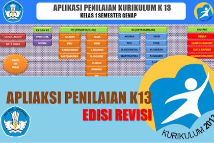 Download Aplikasi Penilaian Kurikulum 2013 Versi 2019