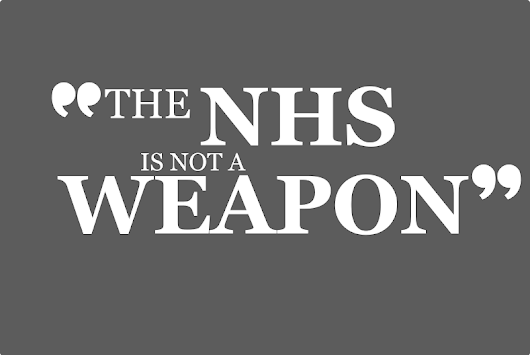"#pmqsketch ""The NHS is not a weapon"", said Dave as he skewered himself."