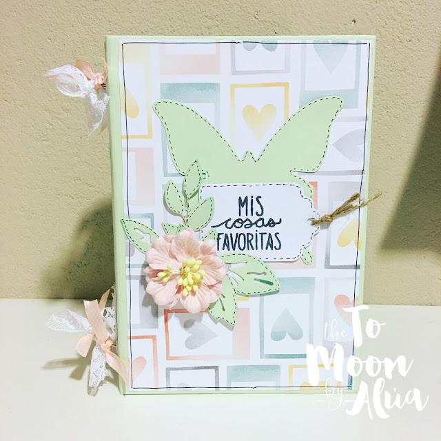 mini álbum de scrapbooking Mis cosas bonitas