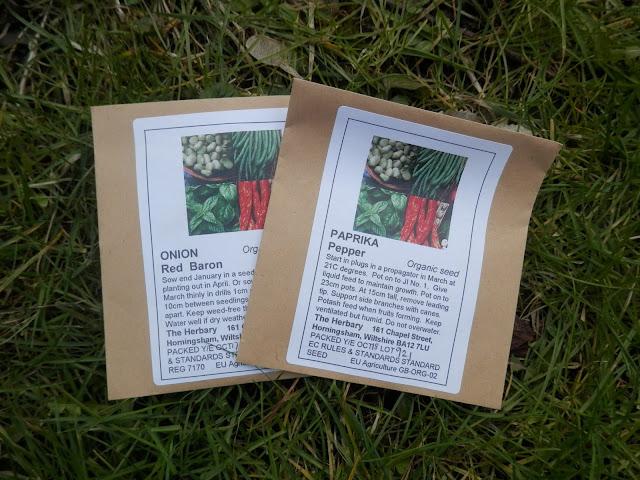 My favourite UK organic garden seed suppliers. From UK garden blogger secondhandsusie.blogspot.com #organicgarden #organicseed #gardenblogger #permaculturegarden #suburbanpermaculture