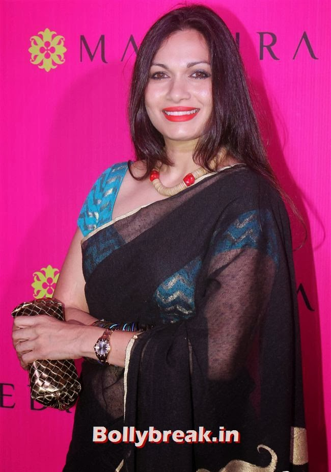 Maria Goretti, Mandira Bedi Sari Store Launch Photos