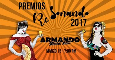PREMIOS RE SONANDO 2017 2