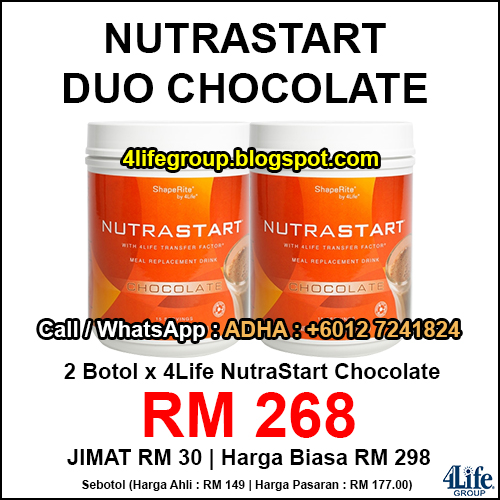 foto 4Life NutraStart Duo Chocolate
