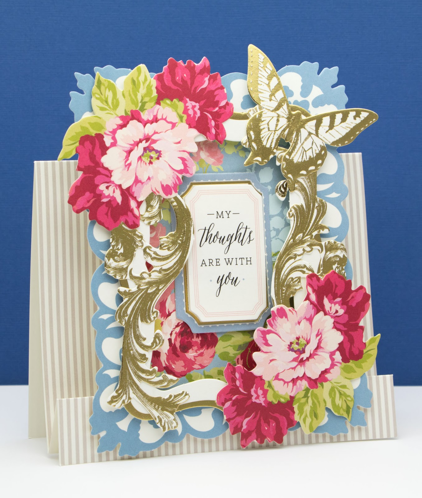 the paper boutique sympathy card using anna griffin