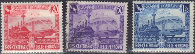 Italy1939  Centenary of the Italian railways