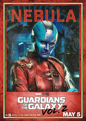 Marvel's Guardians of the Galaxy Vol. 2 Character Movie Poster Set - Nebula