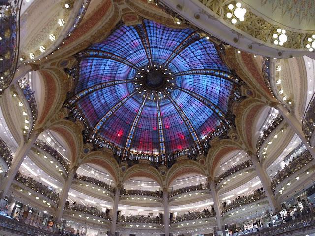 Loja Galeries Lafayette em Paris
