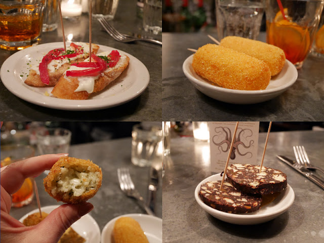 Polpo Brighton chicchetti small plate food