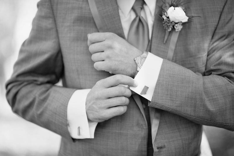 Montana Cufflinks / Photography: Amelia Anne Photography / Venue: Le Petit Chateau, Bozeman, MT / Makeup: Alexa Mae / Flowers: Budget Bouquet / Cake: Cakes By Jenn