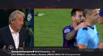 Messi Lolos Dari Kartu Merah Usai Cekik Wasit