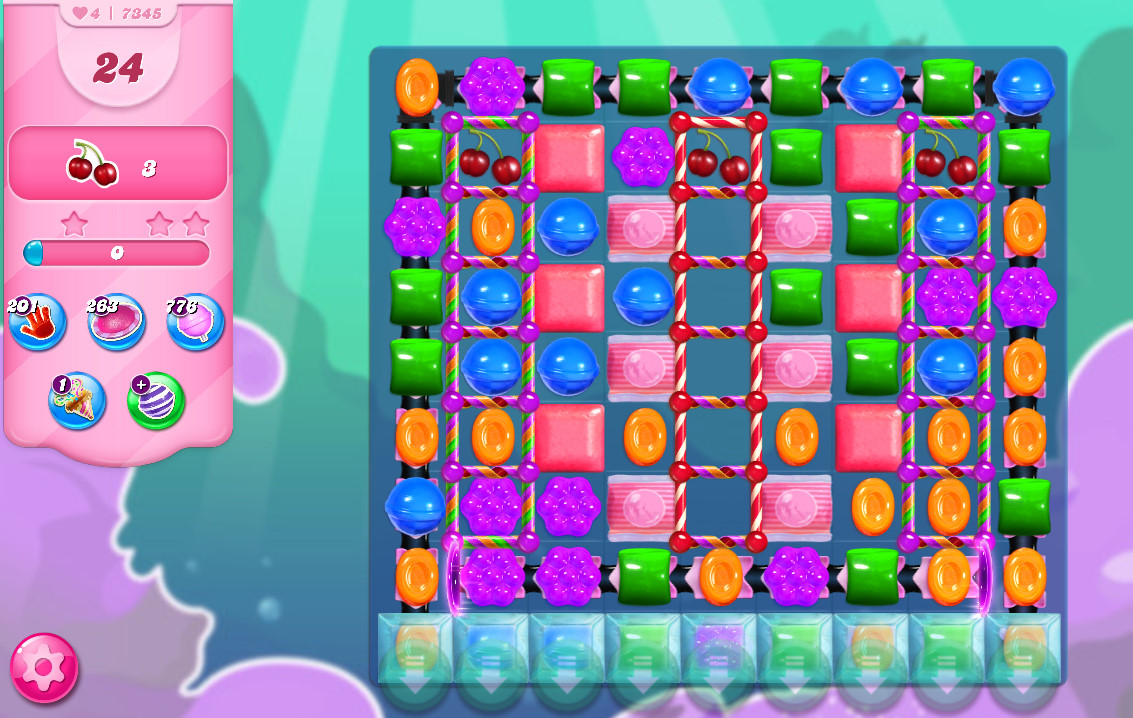 Candy Crush Saga level 7345