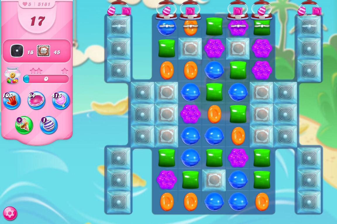 Candy Crush Saga level 5181