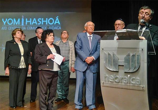 Comunidade judaica paulista lembra o Yom Hashoá