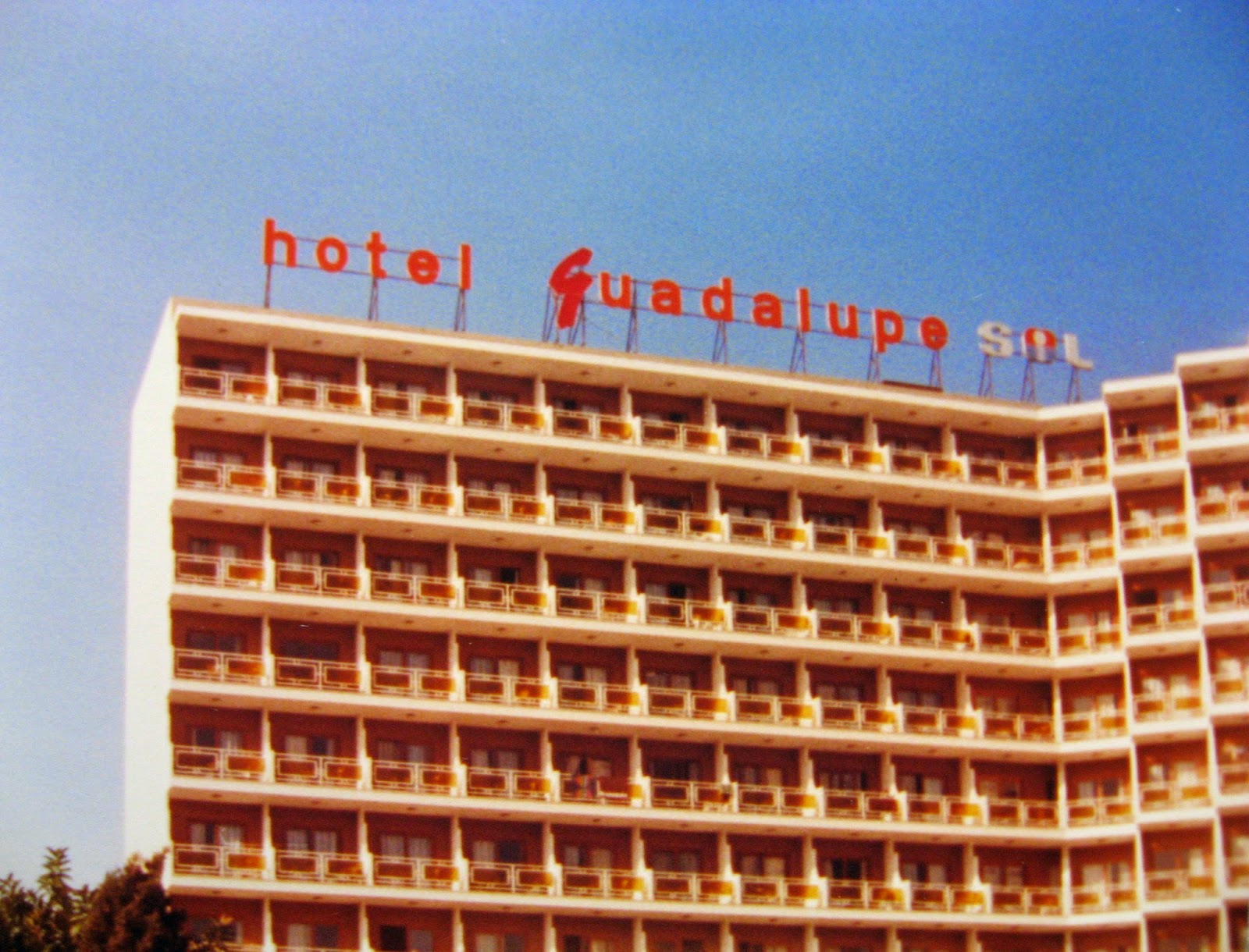 The Hotel we all stayed at during our rampage... LoL February 1983