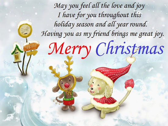 Merry Christmas 2018 New year wishes