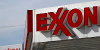 Exxon sign (Credit: Bloomberg via Getty Images) Click to Enlarge.