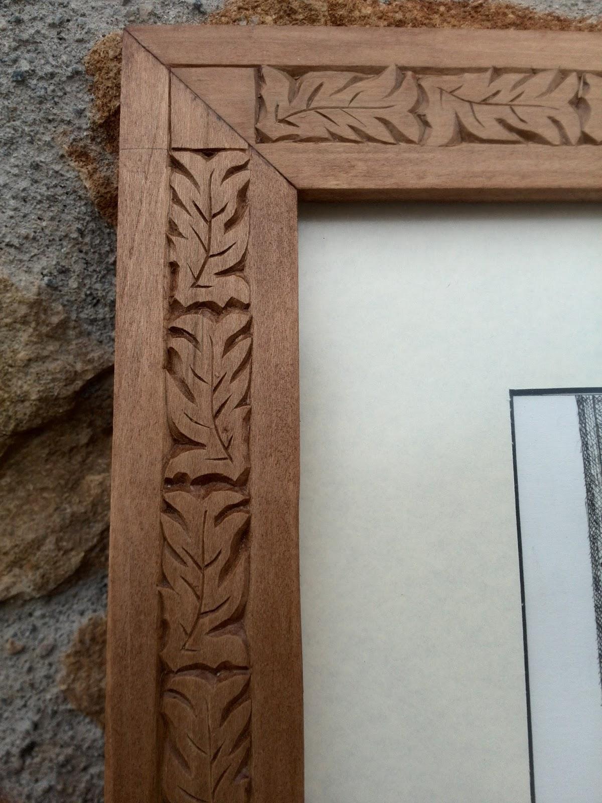 Artesania el valle marcos de fotos o cuadros en madera for Fotos en madera