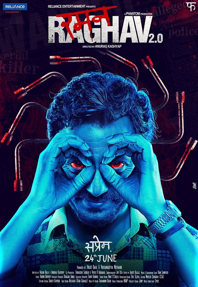 Nawazuddin Siddiqui,  Upcoming film Raman Raghav 2.0 2016 Wiki, Poster, Release date, Songs list