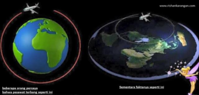 TERUNGKAP !! Konspirasi Bumi Datar ! Wajib SEBARKAN Agar Kita Tidak Dibodohi !!
