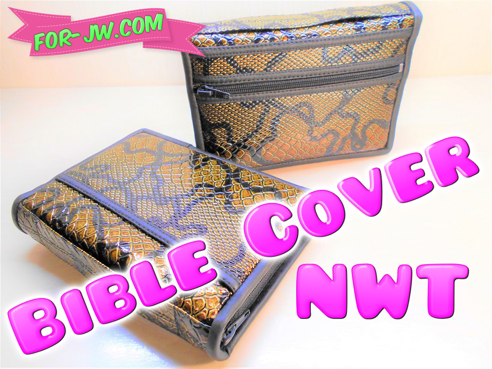 Made for JW: NWT Bible Cover