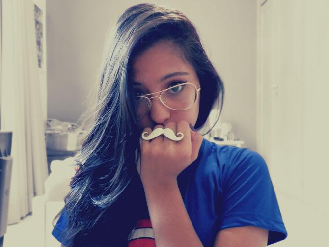 Ahasa, Gata!   Beatriz de Oliveira  Meus novos óculos de grau! ae2c24e132