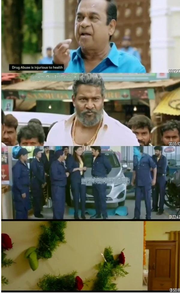 Jai Simha 2019 HDRip 500MB Telugu Hindi Dubbed Movie 480p