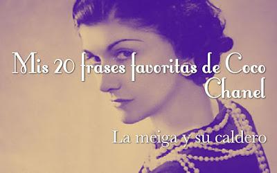 Mis 20 frases favoritas de Coco Chanel