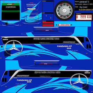 Download Livery Bus Pandawa 87 GAA
