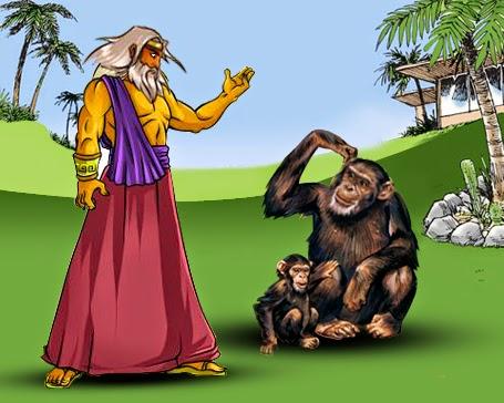 ZEUS AND THE MONKEY