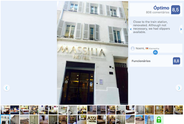 Massilia Hotel em Marselha