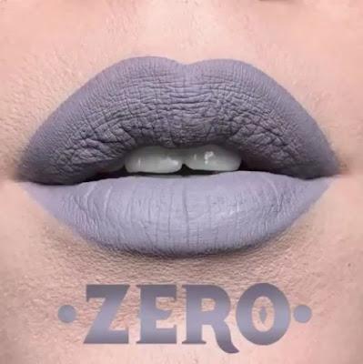 kat von d Everlasting Liquid Lipstick lip swatch zero