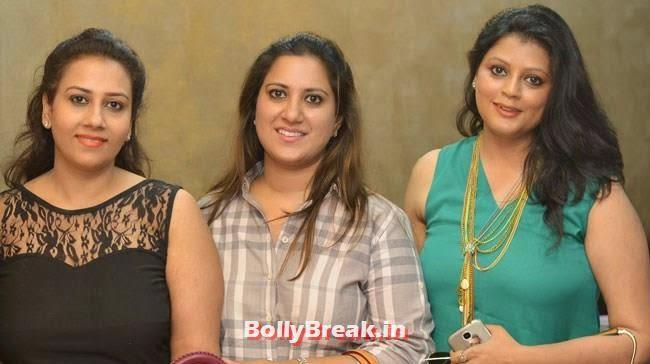 Srishty, Priyanka and Ruchika, Hair and Makeup Studio 'ANGE', Launch Pics