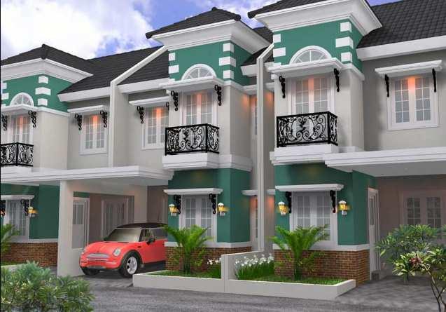 Gambar model rumah minimalis type 45 2 lantai