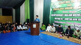 Sambut Malam Nuzulul Quran, Ma'had Al Jami'ah Gelar Pengajian Umum