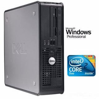 Máy tính văn phòng Dell Optiplex 755 SFF (Core 2 Duo E8400, Ram 2GB, HDD 160GB) - Hàng Nhập Khẩu