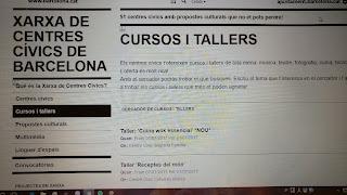 http://ajuntament.barcelona.cat/centrescivics/ca/cursos-i-tallers